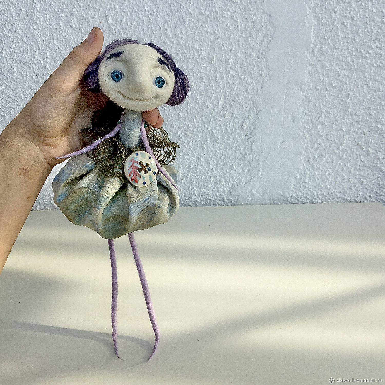 felt toy: Lavender girl, Felted Toy, Plovdiv,  Фото №1