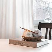 Материалы для творчества handmade. Livemaster - original item 5mm Cedar Wood Knitting Hook. K302. Handmade.