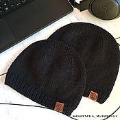 Аксессуары ручной работы. Ярмарка Мастеров - ручная работа Мужская вязаная шапка. Handmade.