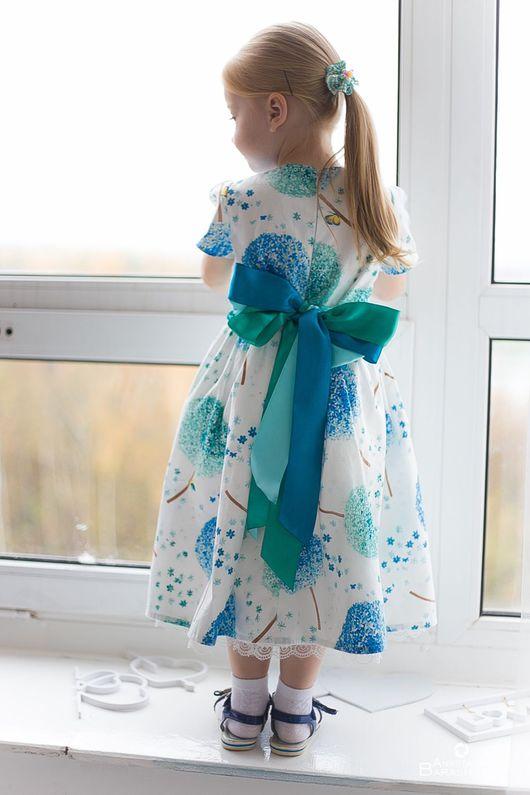 """Одежда для девочек, ручной работы. Ярмарка Мастеров - ручная работа. Купить """"Волшебные одуванчики"""". Handmade. Платье, платье для малышки"""