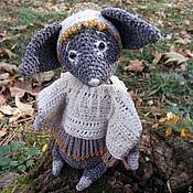 Куклы и игрушки ручной работы. Ярмарка Мастеров - ручная работа Поздней осени Серая лисица. Handmade.