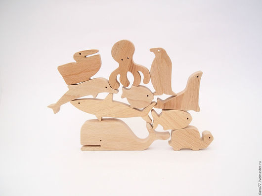 """Развивающие игрушки ручной работы. Ярмарка Мастеров - ручная работа. Купить Деревянный балансир""""Океан"""". Handmade. Бежевый, игрушка ручной работы"""