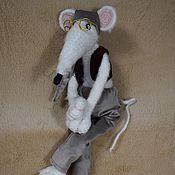 Год Крысы 2020 ручной работы. Ярмарка Мастеров - ручная работа Умный крыс. Handmade.