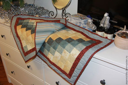 Текстиль, ковры ручной работы. Ярмарка Мастеров - ручная работа. Купить Лоскутная наволочка. Handmade. Желтый, печворк, наволочка