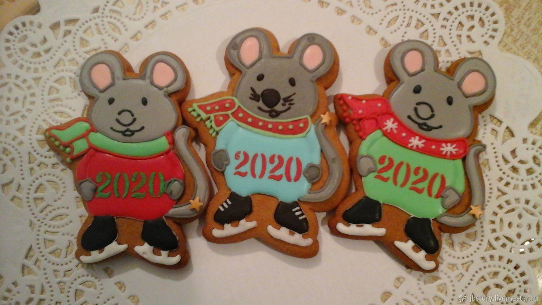 мышка 2020год, Пряники, Москва,  Фото №1