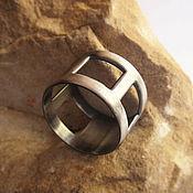 Украшения handmade. Livemaster - original item ring in sterling silver