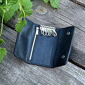 Сумки и аксессуары handmade. Livemaster - original item Leather wallet-housekeeper. Handmade.