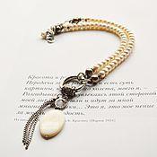 Украшения handmade. Livemaster - original item Necklace bracelet pearls. Handmade.