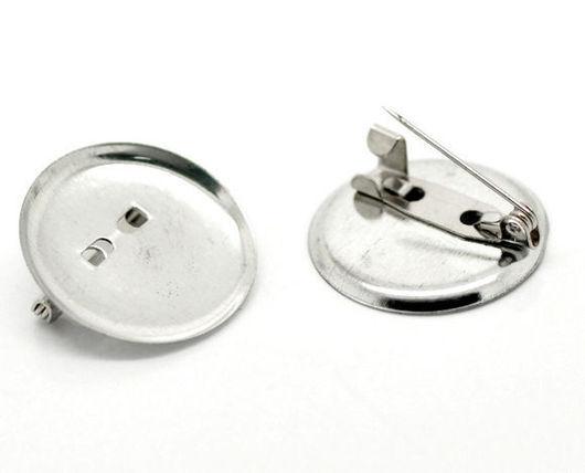 1) DIN-00143 Основа для броши прост кругл большая `значок` (цвет-серебрист, d 35 мм)- 5 руб  2) DIN-00142 Основа для броши простая круглая малая `значок` (цвет-серебристый, d 24 мм) - 3 руб--нет