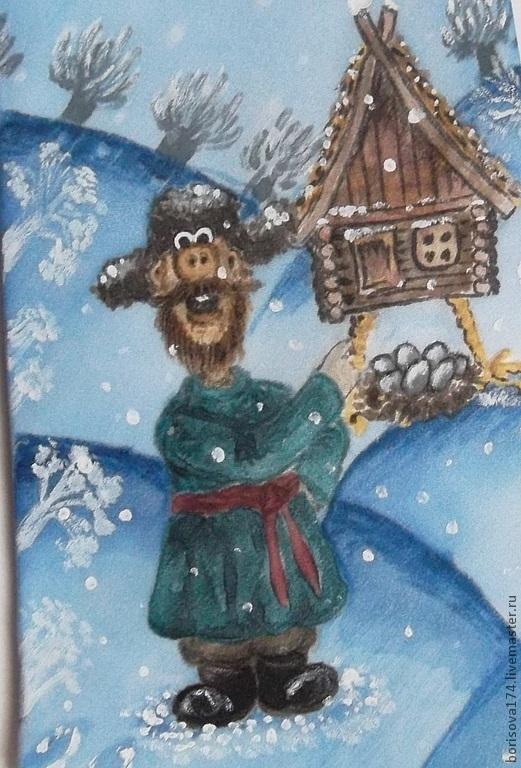 """Галстуки, бабочки ручной работы. Ярмарка Мастеров - ручная работа. Купить Галстук """"Падал прошлогодний снег"""". Handmade. Оранжевый, мужской"""