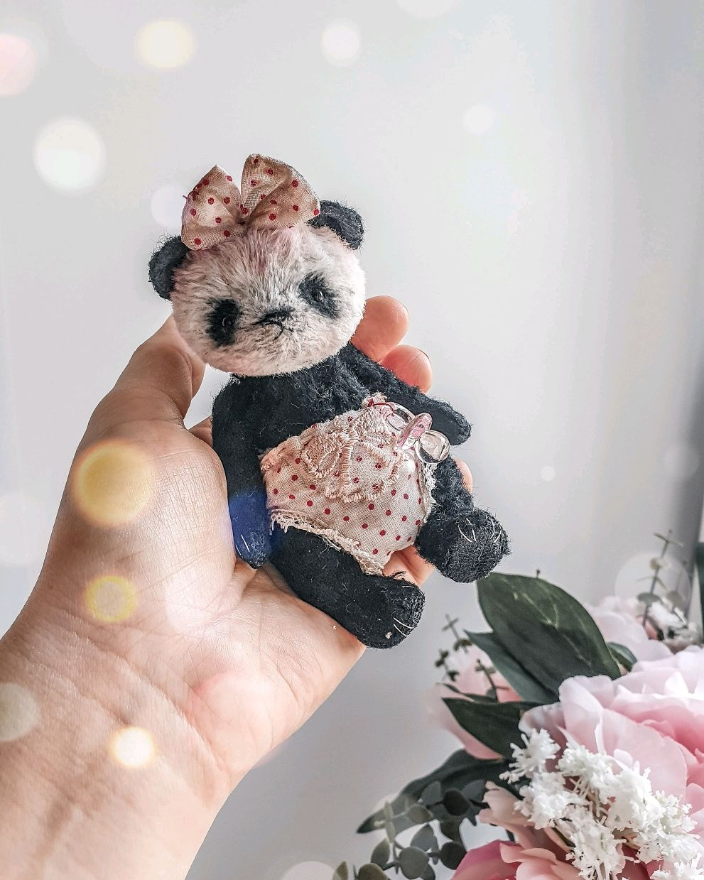 Video master class pattern of a Panda in the style of Teddy, Educational materials, St. Petersburg,  Фото №1