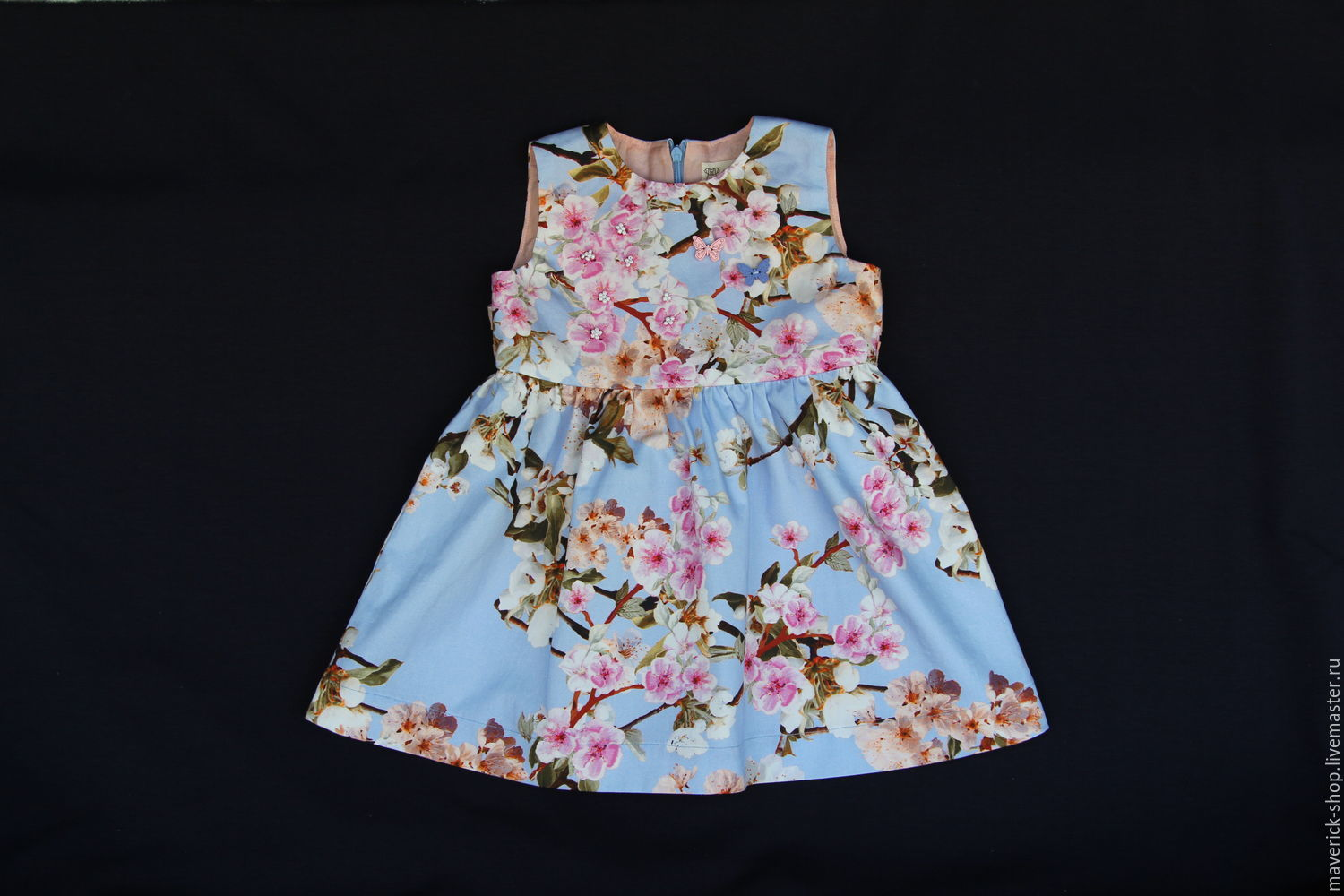 NWT Gymboree DRESSED UP SHOP White Blue Floral Flower Bee Dressy Dress NEW 57810