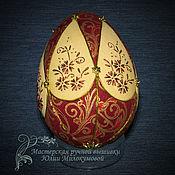 Сувениры и подарки handmade. Livemaster - original item Easter egg red. Handmade.