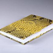 Канцелярские товары handmade. Livemaster - original item Dated diary from Python. Handmade.