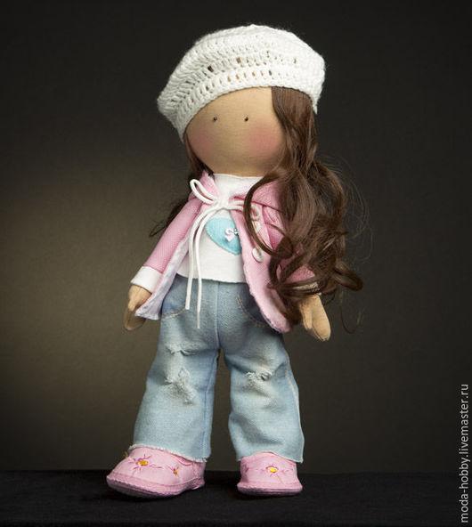 """Куклы и игрушки ручной работы. Ярмарка Мастеров - ручная работа. Купить Набор для шитья """"Кукла Женечка"""" Модное Хобби. Handmade."""