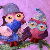 """Для дома и интерьера ручной работы. Ярмарка Мастеров - ручная работа Одеяло  """" Совушки"""". Для самых маленьких.. Handmade."""