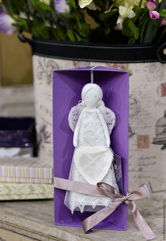 Куклы Тильды ручной работы. Ярмарка Мастеров - ручная работа. Купить Нежный пуховый ангел. Handmade. Ангел, ангел тильда