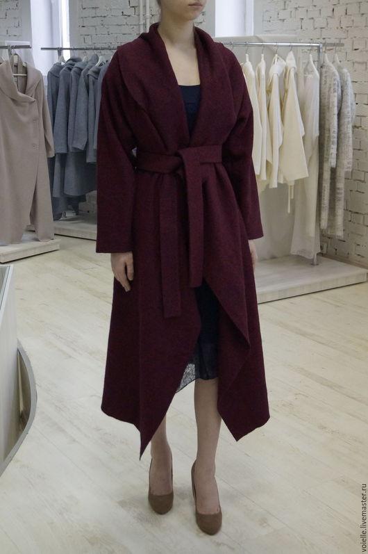 пальто демисезонное, пальто женское, пальто на весну, пальто на осень, пальто без подкладки, пальто красное, пальто халат пальто необычное пальто, дизайнерское пальто