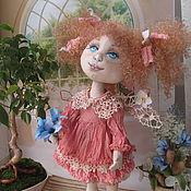 Куклы и пупсы ручной работы. Ярмарка Мастеров - ручная работа Кукла феечка Майка, кукла текстильная, авторская, коллекционная, фея. Handmade.