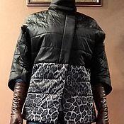 Одежда ручной работы. Ярмарка Мастеров - ручная работа Куртка с леопардовым принтом. Handmade.