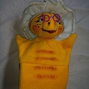 Куклы и игрушки ручной работы. Ярмарка Мастеров - ручная работа Тортилла черепаха.Перчаточная кукла.. Handmade.