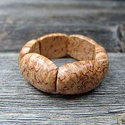 Украшения handmade. Livemaster - original item Bracelet made of Karelian birch. Handmade.