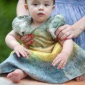 Работы для детей, ручной работы. Ярмарка Мастеров - ручная работа Платье для девочки 0616. Handmade.