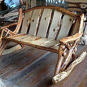 Для дома и интерьера ручной работы. Ярмарка Мастеров - ручная работа Яблоневый диван качалка для влюбленных пар. Handmade.