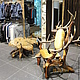 Furniture handmade. Order A throne of wood. Workshop of Art Furniture. Livemaster. Beige, custom furniture, juniper