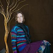 Одежда ручной работы. Ярмарка Мастеров - ручная работа Женская вязаная кофта. Handmade.