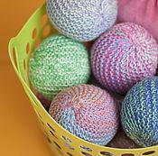 Куклы и игрушки ручной работы. Ярмарка Мастеров - ручная работа Мячик вязаный развивающий. Handmade.