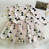 Платья ручной работы. Ярмарка Мастеров - ручная работа Платье с фатиновой юбочкой 2. Handmade.