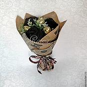 Сувениры и подарки ручной работы. Ярмарка Мастеров - ручная работа Букет из носков с конфетами.. Handmade.