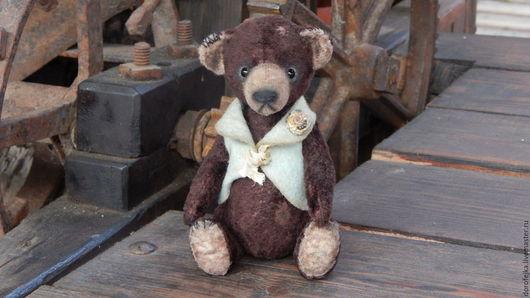 Мишки Тедди ручной работы. Ярмарка Мастеров - ручная работа. Купить Мишка Тедди Эдуард. Handmade. Коричневый, классический тедди