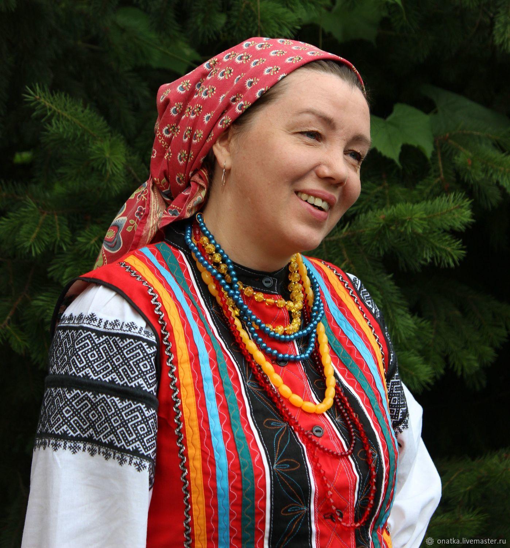 Traditional costume with.Tatarino, Costumes3, Voronezh,  Фото №1
