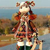 Куклы и игрушки ручной работы. Ярмарка Мастеров - ручная работа Текстильная игрушка Жирафа Анюта. Handmade.