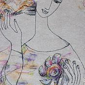 """Картины и панно ручной работы. Ярмарка Мастеров - ручная работа """"Предвкушение"""". Handmade."""