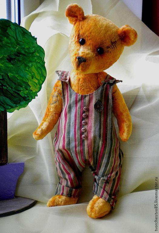 Мишки Тедди ручной работы. Ярмарка Мастеров - ручная работа. Купить Рим Тим Тим. Handmade. Рыжий, мишка