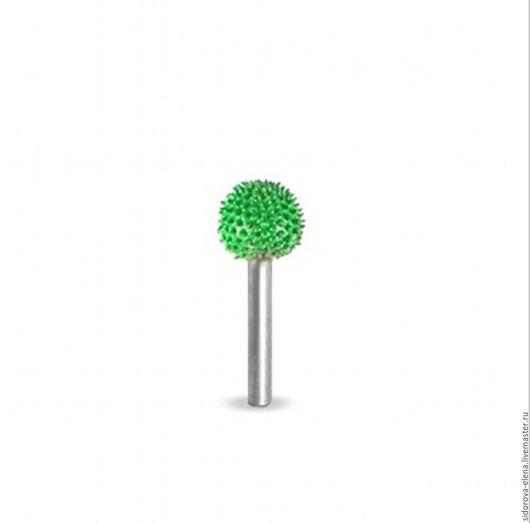 Другие виды рукоделия ручной работы. Ярмарка Мастеров - ручная работа. Купить Сабурр сфера зеленая. Handmade. Зеленый