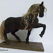 Куклы и игрушки ручной работы. Ярмарка Мастеров - ручная работа лошадь Карма из шерсти. Handmade.