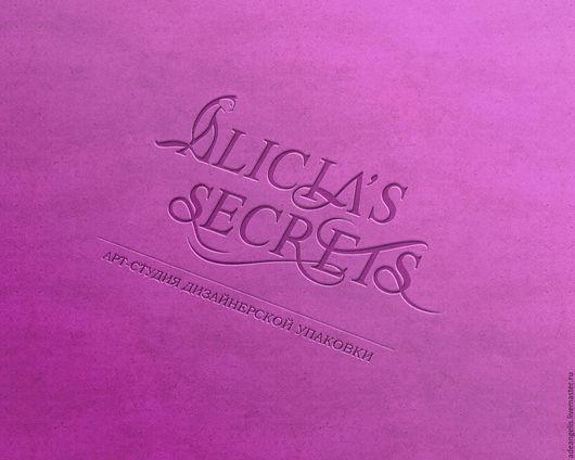 Баннеры для Магазинов мастеров ручной работы. Ярмарка Мастеров - ручная работа. Купить Логотип и фирменная стилистика Alisia's Secrets. Handmade.