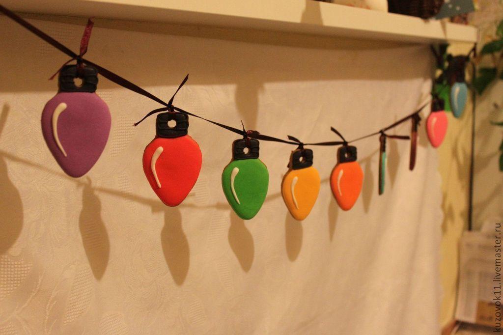 Гирлянды из лампочек на новый год