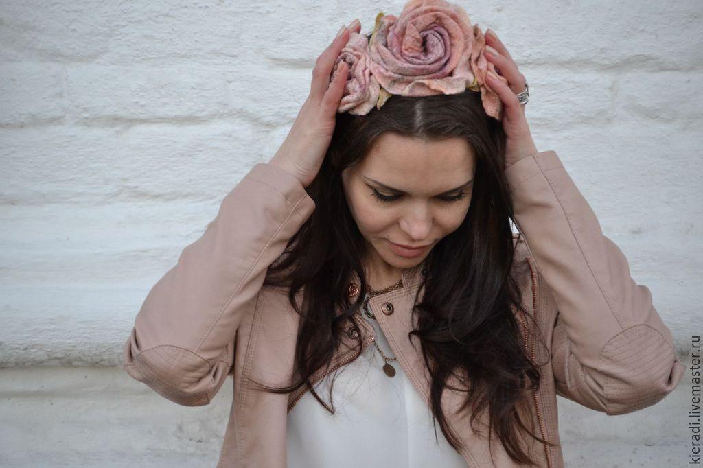 Bezel 'Kingdom of roses - 2', Headband, Sarasota,  Фото №1