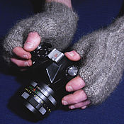 Аксессуары handmade. Livemaster - original item Men`s knitted fingerless gloves Winds. Handmade.