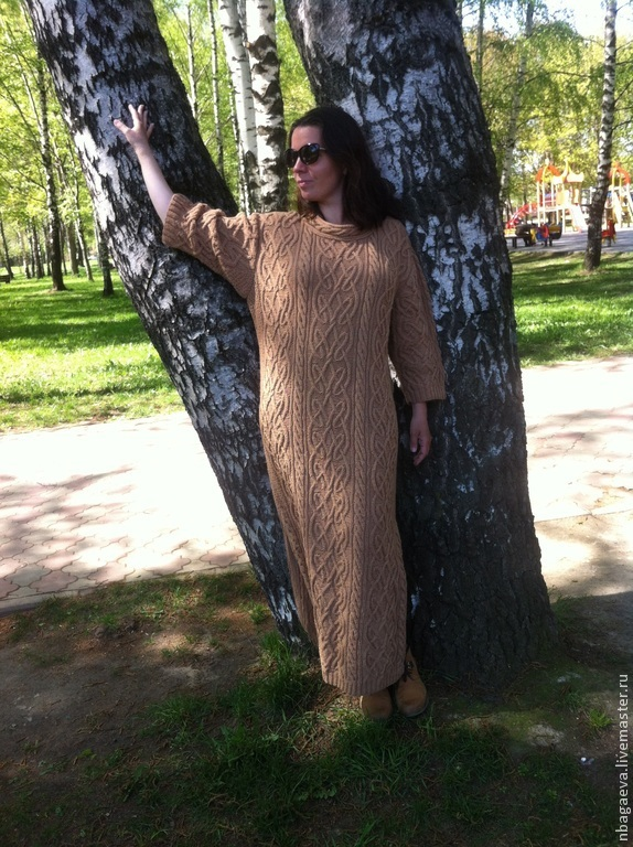 Celtic knitted dress, Arans, Dresses, Dolgoprudny,  Фото №1