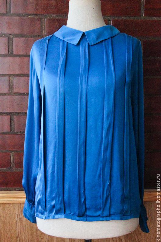 Одежда. Ярмарка Мастеров - ручная работа. Купить Блузка CHANEL винтаж 60-е. Handmade. Синий, блузка, винтаж