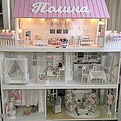 Кукольные домики ручной работы. Ярмарка Мастеров - ручная работа Кукольный дом для Барби. Handmade.