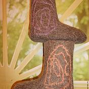 """Обувь ручной работы. Ярмарка Мастеров - ручная работа Валенки детские """"Мозаика"""". Handmade."""