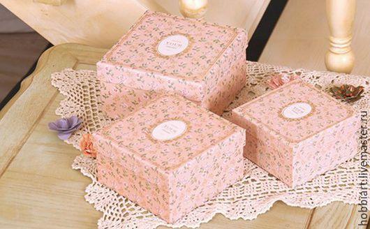 Упаковка ручной работы. Ярмарка Мастеров - ручная работа. Купить Набор коробок, 3шт.. Handmade. Коробочка, коробка для мелочей
