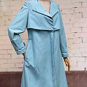 Одежда ручной работы. Ярмарка Мастеров - ручная работа Плащ женский Tiffany. Handmade.